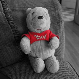 Dear Winnie The Pooh - Obrázkek zdarma pro iPad