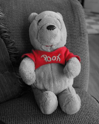 Dear Winnie The Pooh - Obrázkek zdarma pro Nokia Asha 310
