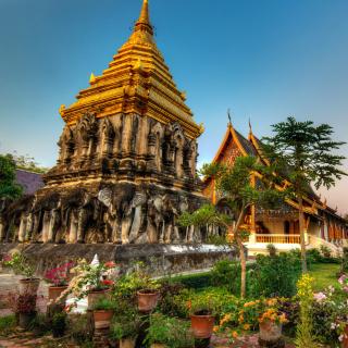 Thailand Temple - Obrázkek zdarma pro 1024x1024