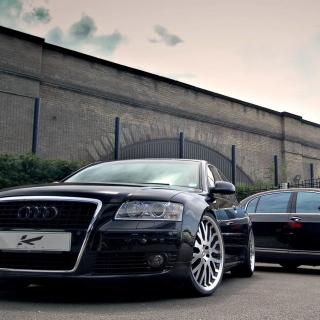 Audi A8 and Bentley, One Platform - Obrázkek zdarma pro iPad
