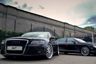 Kostenloses Audi A8 and Bentley, One Platform Wallpaper für Android, iPhone und iPad