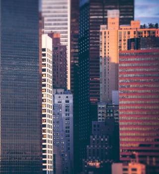 Manhattan Buildings - Obrázkek zdarma pro 2048x2048