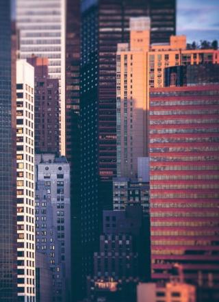Manhattan Buildings - Obrázkek zdarma pro 768x1280