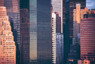 Manhattan Buildings - Obrázkek zdarma pro Fullscreen Desktop 800x600