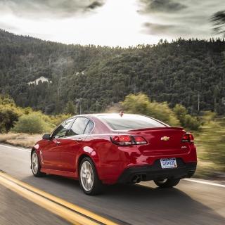 Chevrolet SS 2016 - Obrázkek zdarma pro iPad 2