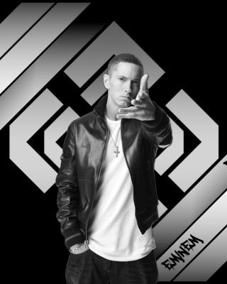 Eminem Black And White - Obrázkek zdarma pro Nokia C-Series