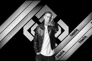 Eminem Black And White - Obrázkek zdarma pro HTC EVO 4G