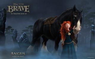 Brave Cartoon - Obrázkek zdarma pro 640x480