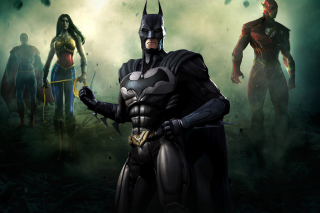 Free Injustice Gods Among Us - Batman Picture for Android, iPhone and iPad