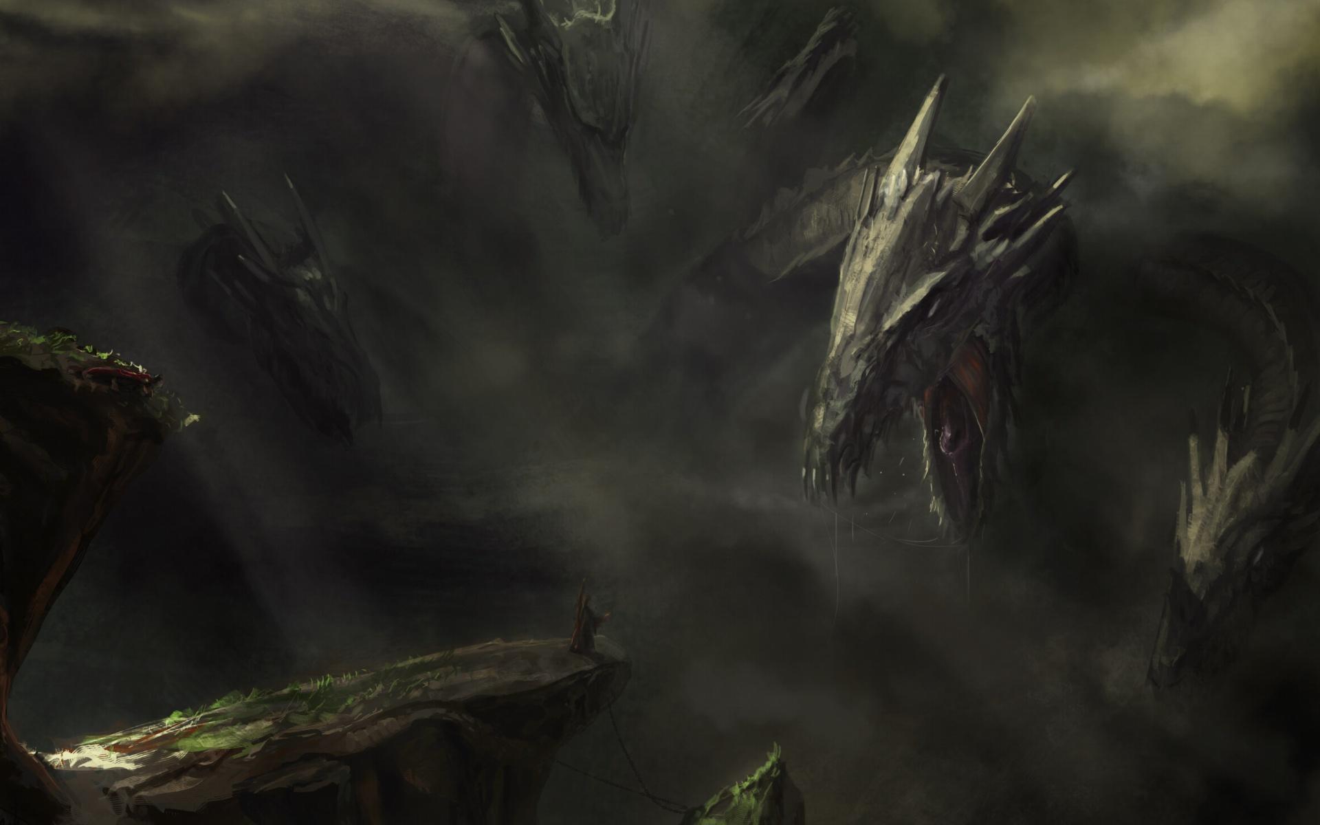 monster hydra wallpaper for widescreen desktop pc