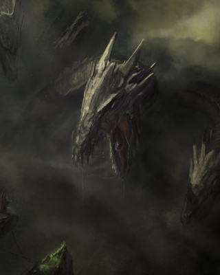 Monster Hydra - Obrázkek zdarma pro Nokia C-5 5MP