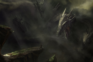 Monster Hydra - Obrázkek zdarma pro Android 480x800