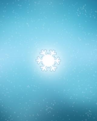 Snowflake - Obrázkek zdarma pro Nokia Asha 502