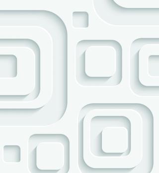 3D Effect White Pattern - Obrázkek zdarma pro 320x320