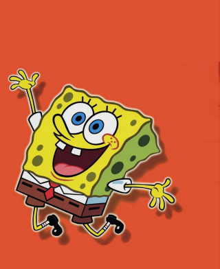 Spongebob - Obrázkek zdarma pro 320x480