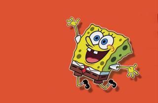 Spongebob - Obrázkek zdarma pro Nokia Asha 200