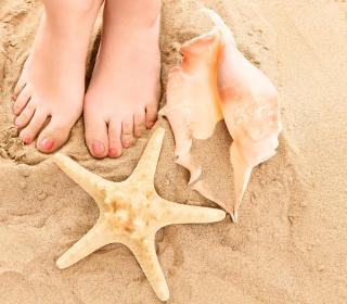 Sun Sand Shells - Obrázkek zdarma pro iPad 3