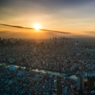 Breaking Dawn in Tokyo - Obrázkek zdarma pro iPad 2