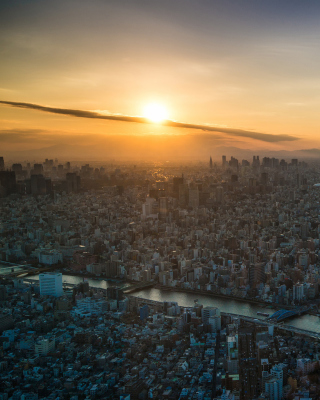 Breaking Dawn in Tokyo - Obrázkek zdarma pro iPhone 4S