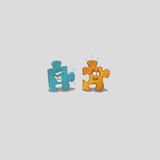 Puzzle Pieces - Obrázkek zdarma pro iPad