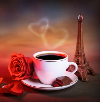 Romantic Coffee - Obrázkek zdarma pro iPad
