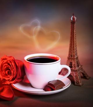 Romantic Coffee - Obrázkek zdarma pro iPhone 5C