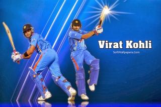 Virat Kohli and MS Dhoni - Obrázkek zdarma pro Sony Xperia Z3 Compact