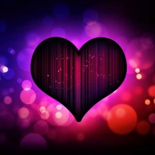 Neon Heart - Obrázkek zdarma pro iPad Air