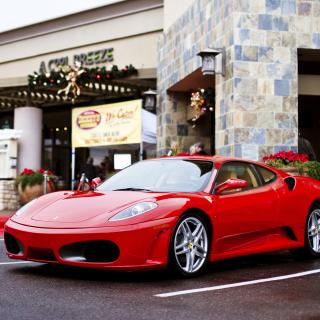 Ferrari F430 in City - Obrázkek zdarma pro 208x208
