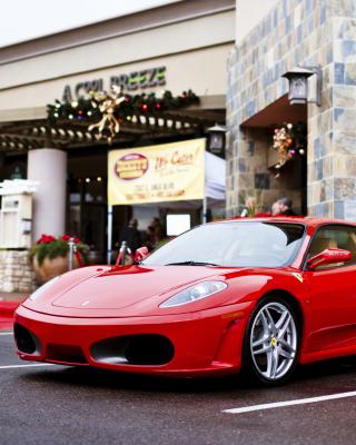 Ferrari F430 in City - Obrázkek zdarma pro Nokia Asha 303