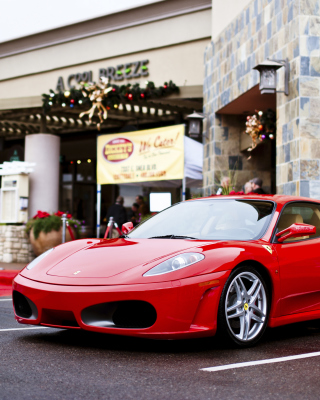 Ferrari F430 in City - Obrázkek zdarma pro 128x160