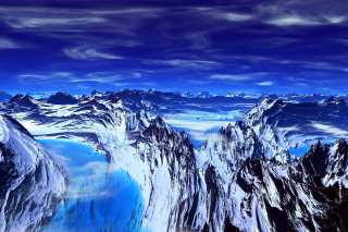 Blue Mountain Wallpaper for Android, iPhone and iPad