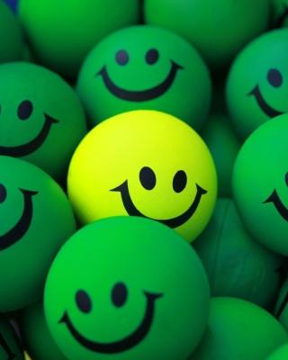 Smiley Green Balls - Obrázkek zdarma pro 240x400