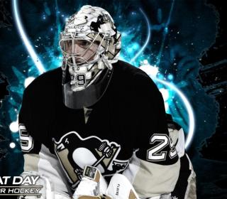 Pittsburgh Penguins Marc Andre Fleury - Obrázkek zdarma pro 320x320