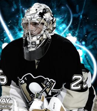 Pittsburgh Penguins Marc Andre Fleury - Obrázkek zdarma pro Nokia Asha 305