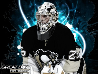 Pittsburgh Penguins Marc Andre Fleury - Obrázkek zdarma pro Android 1440x1280