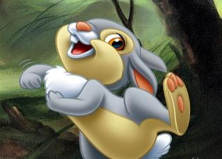 Thumper (Bambi) - Obrázkek zdarma pro 480x320