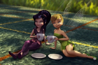 Tinker Bell And The Great Fairy Rescue - Obrázkek zdarma pro HTC Desire HD