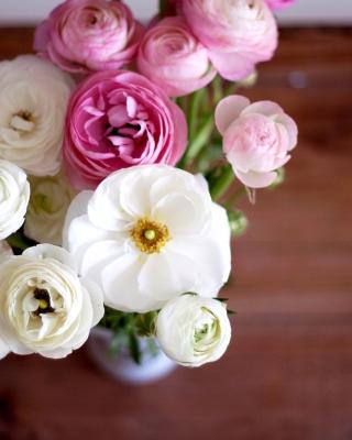 Amazing Ranunculus Bouquet - Obrázkek zdarma pro 360x400