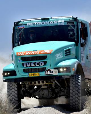 Iveco Race Truck - Obrázkek zdarma pro Nokia 5800 XpressMusic