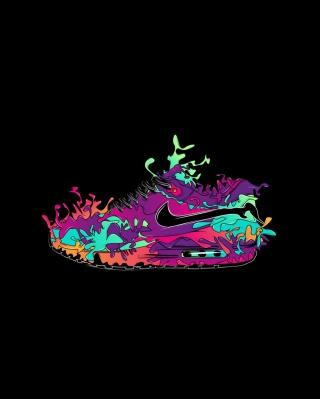 Nike Air - Obrázkek zdarma pro Nokia Asha 202