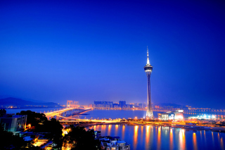 China, Macau - Obrázkek zdarma pro Samsung Galaxy Tab 4G LTE