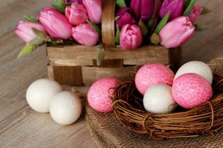 Pink Easter - Fondos de pantalla gratis para Nokia X2-01