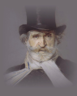 Giuseppe Verdi - Obrázkek zdarma pro Nokia 300 Asha
