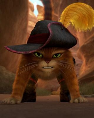Puss In Boots - Obrázkek zdarma pro 320x480