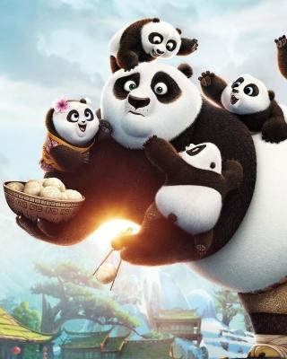 Kung Fu Panda Family - Obrázkek zdarma pro Nokia Asha 501