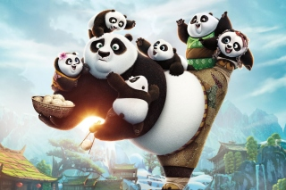 Free Kung Fu Panda Family Picture for Android, iPhone and iPad