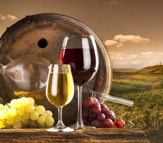 Grapes Wine - Obrázkek zdarma pro iPad