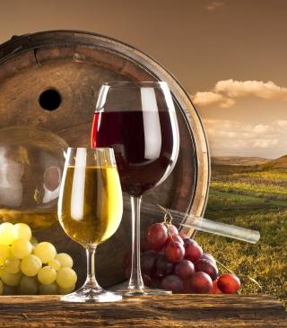 Grapes Wine - Obrázkek zdarma pro 128x160