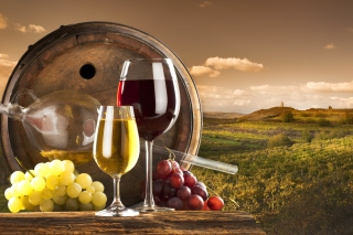 Grapes Wine - Obrázkek zdarma pro 800x480